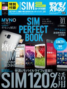 デジモノステーション2015年1月号増刊 『SIM PERFECT BOOK』(シム・パーフェクト・ブック)